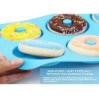 Quality Silicone Donut Baking Pan of 100% Nonstick Silicone. BPA Free Mold Sheet Tray. wholesale