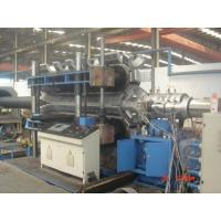 Quality Automatic PE / PVC Double Wall Corrugated Pipe Machine PLC control system wholesale