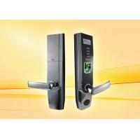 Quality Multi Language Fingerprint Door Lock Support ID Card Reader For Optional wholesale