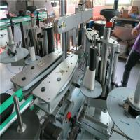 Quality Full Automatic Sticker Labeling Machine , Water Bottle Front And Back Labeling Machine wholesale
