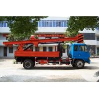 Cheap Powerful Truck Mounted Drilling Rig Mechanical Driven For Bridge , Dam for sale