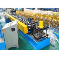 Quality 11KW Steel Mute Guide Track Roll Forming Equipment Roller Shutter Door Use wholesale