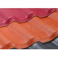 18.7'' Length Synthetic Resin Roof Tile With 12 inch Wave Height And Long Lifetime