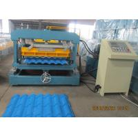 Quality Glazed Metal Tile Forming Speed 4m/min  Roof Tile Roll Forming Machine 380V/3Phase/50HZ wholesale