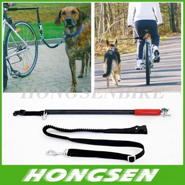 Cheap HS-D01 Running retractable China dog training bike leash walking bike dog leashes for sale