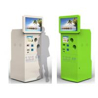 Buy cheap Self Bottle Recycling Machine Totem Touch Kiosk With Touch Screen Standing from wholesalers
