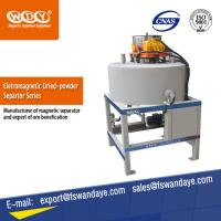 Quality ISO Approved Waste Tire Recycling Dry Powder Magnetic Iron Separator Energy Saving. wholesale