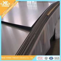 Quality ASTM B265 Cold Rolling Pure Titanium And Titanium Alloy Sheets wholesale