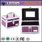 Quality LT-MC326 makeup artist train case eyelash cil ciglio bulu mata storage packaging case wholesale