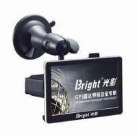 Quality GPS Navigator with 500MHz Frequency, Flat Radar Detector and Early Warning System wholesale
