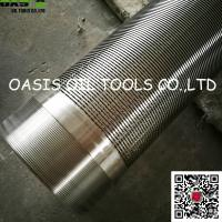 Quality 316L welded coupling deep well Johnson type water well screen pipes wholesale