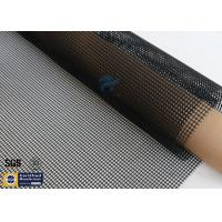 Quality 4*4 PTFE Coated Fiberglass Mesh Fabric 580GSM Black Tortilla Press Conveyor Belt wholesale