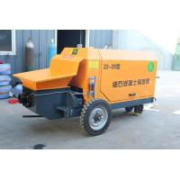 Quality 12 Mpa Portable Concrete Pump Wireless Remote Control Air Cooling System wholesale