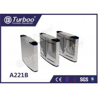 Quality LED Lamp Indication Flap Barrier Turnstile Access Control Security Systems wholesale