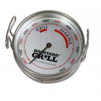 China Stainless Steel Grill Thermometer Durable Bimetal Construction For Meat Cooking on sale