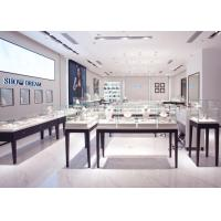 Quality OEM Showroom Display Cases , Fashion Jewellery Shop Interior Design Plans wholesale