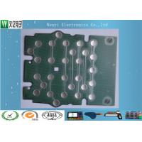 Quality Metal Dome PET Flex Circuit Polyimide Circuit Board 10mm 5 Dimple For Bank Use wholesale