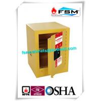 Buy cheap Mini Steel Flame Proof Safety Storage Cabinets With Single Door product