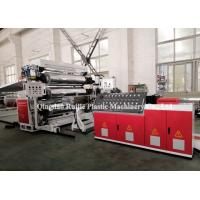 China Flame Retardant Plastic Board Production Line PE PP For Shopping Malls on sale