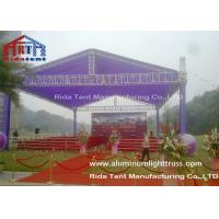 Cheap Dj Lighting Portable Mobile Truss System 5 Years Warranty For Outdoor Concert for sale