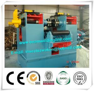 China 80mm Calibrate H Beam Production Line Hydraulic Flange Straightening Machine on sale