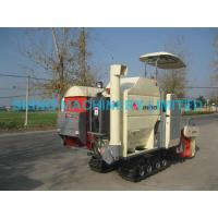 China SIHNO 4LZ-2.2Z Combine Harvester for Wheat, Grain, Rape Seed, soybean with crawler on sale