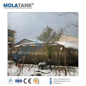 China 50 cbm tank trailers, 50000 liter crude oil semi trailers, 100000 gallons crude oil transport tanker trailer on sale