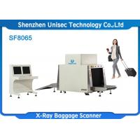 Quality SF8065 X Ray Baggage Scanner Machine , Security Scanning Equipment Dual Energy wholesale