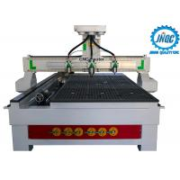 Buy cheap Horizontal 3 Heads CNC Woodworking Router Machine For 3D Wood Carving from wholesalers