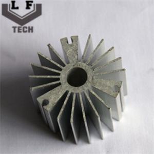 Quality Round High Precision Forging Aluminum Heat Sinks 110 Diameter For LED PCB COB wholesale