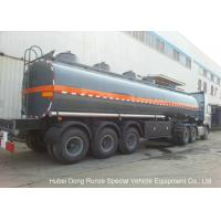 Quality 30-45CBM Chemical Tanker Truck 3 Axles For Hydrochloric Acid , Ferric Chloride Delivery wholesale
