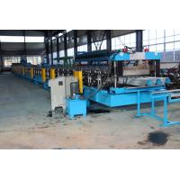 Quality 15KW X 3 Door Frame Making Machine , Stud And Track Roll Forming Machine 1.2 Inch Double Line wholesale