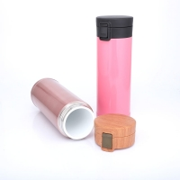 Quality Portable Ceramic Liner 0.48L Thermos Insulated Cup wholesale