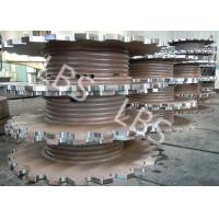 Quality Steel Plate Rolling Integral Type Grooving Drum Of Crane Winch wholesale