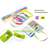 China Micro USB Charger Data Cable for Iphone,Samsung with custom logo printing on sale