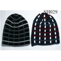 Quality men's stripe hat good style and high quality SH029 adults hats wholesale