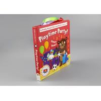 Buy cheap 250gsm 2mm Multilingual Hardcover Children'S Books With Colorful Letters from wholesalers