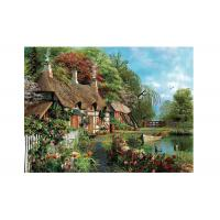Quality Idyllic Scenery 3D Lenticular Pictures Full Colour Printing For Hotel wholesale