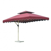 Quality SGS 8 Ribs Free Standing Garden Umbrella With Aluminum Alloy Frame wholesale