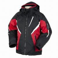 Quality Ski Jacket with Rip-stop, Wind-proof, Waterproof and Breathable Features  wholesale