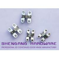 Quality Cabinet Style Hidden Door Hinges , Single Action Invisible Heavy Duty Stainless Steel Hinges wholesale