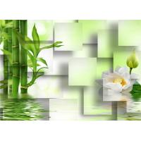 Quality Decoration Eco Friendly 3D Bamboo Wall Panels for Living Room or Kitchen , Easy Install wholesale