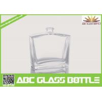 Quality 50ml Pure Perfume Clear Glass Bottle wholesale
