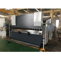 Double Guided Ram Hydraulic NC Press Brake Machine With Safety Light Curtain