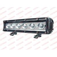 Quality single row 4x4 Led Light bar for ATV, UTV truck, 4 wheelers offroad vehicles black housing 9-32V DC wholesale