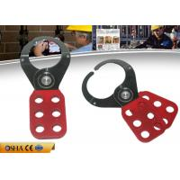 Quality Zc-K02 Ingestion Nylon PA Hasp Lockout ,  Vinyl Coated Body Lock Out Hasps wholesale