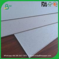 Quality 1000gsm 1200gsm 1500gsm 2000gsm grey chip board solid grey card board wholesale
