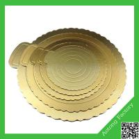 Quality Golden round shape cake drum boards,cake drum,cake bases boards wholesale