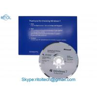 China Multi Language PC System Software Windows 7 Pro Upgrade License 1 Pc Only on sale