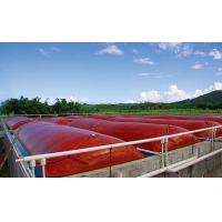 Buy cheap 1.0mm PVC coated Tarpaulin 20m*20m*5m 2000 tons Biogas Holder Methane Gas Tank from wholesalers